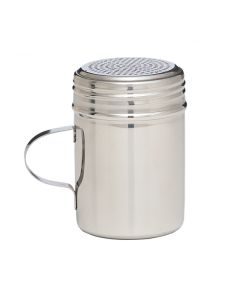 Stainless Steel Powder Shaker With Handle - 10oz