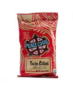 Peace Coffee Twin Cities - 18/2.5oz Bags Ground