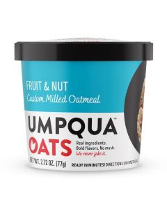 Umpqua Fruit & Nut Kick Start Oats - 8/2.72oz Packs