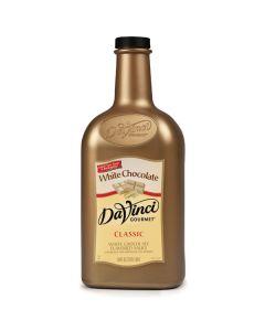 Davinci White Chocolate Sauce - 64oz Bottle