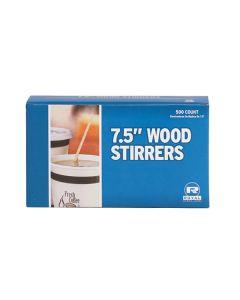 Wooden Coffee Stir Sticks - 500/7.5in Count